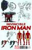 Invincible Iron Man Vol 2 1 Variante de Diseño