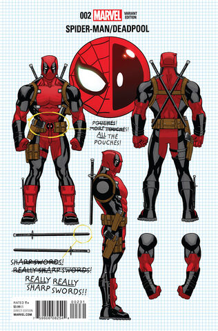 Spider-Man Deadpool Vol 1 2 Design Variant