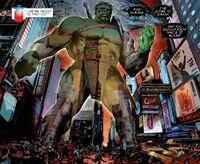 Hulk's hologram
