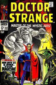 Dr strange comics portada