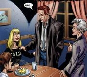 Earth-1610 John Stacy in the aunt May's house