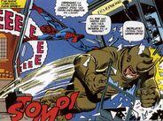 Rhino (Aleksey Aleksei Sytsevich) vs Spider-Man (Peter Parker)