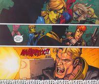 Secret Invasion 5 Ronin is killing Skrull Bobbie Mors