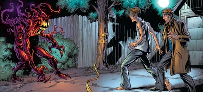 USM 64 Carnage VS Peter Parker and Curt Connors