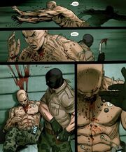 Ultimate Captain America Vol 1 1 Frank Simpson Kills Korean Super Soldier