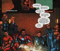 Fantastic Four in Triskelion (Ultimate Secret)