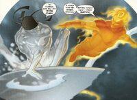 UX4 Iceman & Human Torch
