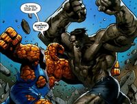 Thing vs Hulk Earth-31916