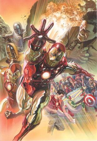 Variante de los 75º Aniversario de Marvel Comics sin texto