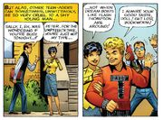 Peter Parker, Eugene Thompson and Sally Avril (Earth-616) from Amazing Fantasy Vol 1 15 0001