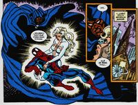 Cloak and Dagger saves Spider-Man