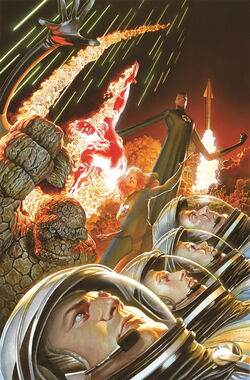 Fantastic Four Vol 5 1 Marvel Comics 75th Anniversary Variant Textless