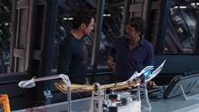 Старк и Беннер работают - Мстители фильм