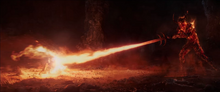 Тор борется с Суртуром - Тор Рагнарёк