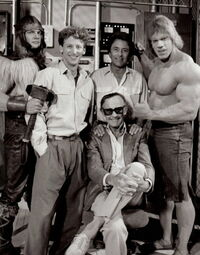 Eric Allan Kramer, Steve Levitt, Bill Bixby, Stan Lee and Lou Ferrigno
