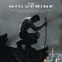 The Wolverine Original Motion Picture Soundtrack cover