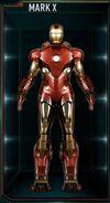 Armure d'Iron Man MK X (Terre-199999)