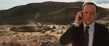 Колсон на месте обнаружения молота Тора - Железный человек 2