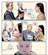 Howard Stark (Terra-616), Maria Stark (Terra-616) e Anthony Stark (Terra-616) de Homem de Ferro Internacional Vol 1 7 001