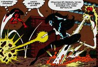 Spider-Man and Firestar versus Shriek