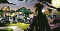 Полиция у дома Питера