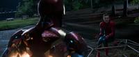 Железный Человек отчитывает Питера - Возвращение домой