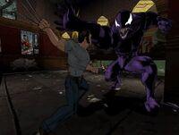 Wolverine vs Venom TRN005