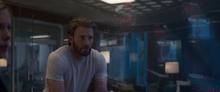 Стив получает информацию о последствиях щелчка - Капитан Марвел