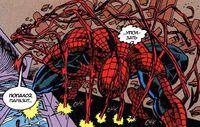 Spider-Man versus Carnage