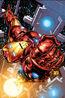 Invincible Iron Man Vol 1 1 Quesada Variant Textless