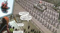 Marvel Adventures- The Avengers 1 Ultron's drones are marshing