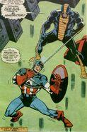 Constrictor vs Capitán América