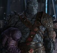 Korg and Miek final of Thor- Ragnarok