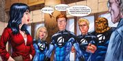 Agatha Harkness is talking with Fantastic Four Earth-1610