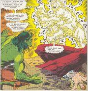 Thaddeus Ross (En El Cuerpo de Zzzax) vs Hulk Verde (Rick Jones)