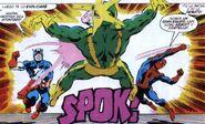 Spider-Man y Capitán América vs Electro