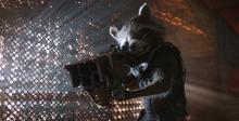 Ракета готовится к битве - Стражи галактики