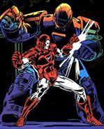 Anthony Stark and Obadiah Stane (Earth-616) from Iron Man Vol 1 200 0001