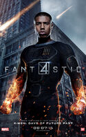 Fantastic Four 2015 poster Human Torch