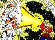 Thanos e Odin