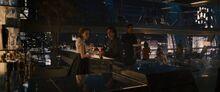 Наташа и Брюс на вечеринке - Эра Альтрона