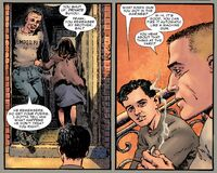 Frank Castle and Sal Buvoli are talking