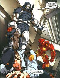 Tony Masters and Anthony Stark (Earth-616) from Taskmaster Vol 1 1 0001