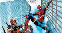 Deadpool Fights Spider-Man
