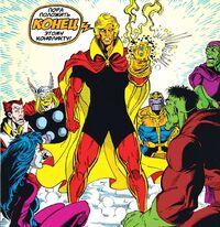 Adam Warlock gets the Infinity Gauntlet