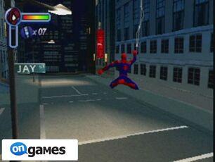 Spider-man-2-enter-electro-columpiandose
