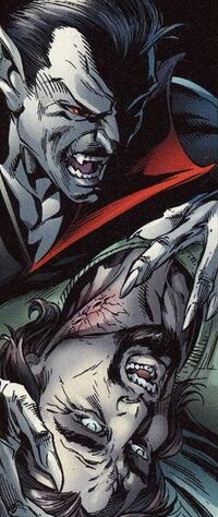 Morbius is going to bite Ben Urich Earth-1610