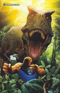 UFF 21 The Thing vs Tiranosaurus Rex