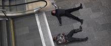 Барнс и Сокол побежденные Человеком-пауком - Противостояние