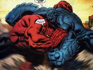 Red Hulk Vs A-Bomb